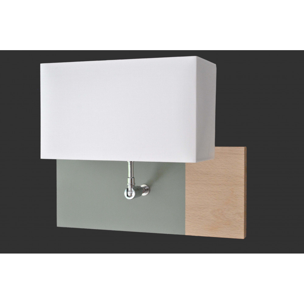 applique murale l34 en bois vente luminaire bois sur lampe avenue. Black Bedroom Furniture Sets. Home Design Ideas