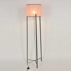 lampadaire trépied en métal