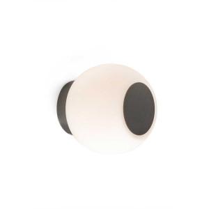 plafonnier globe verre