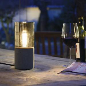 Lampe de table extérieure