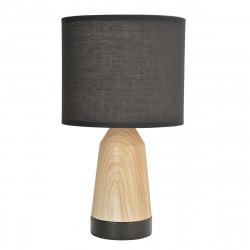 Lampe tactile bois