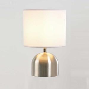 Lampe tactile alu brossé