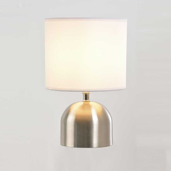 Lampe Tactile En Alu Brossé