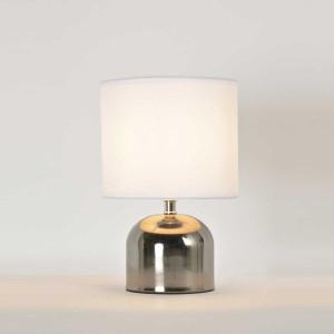 Lampe tactile métal vintage