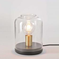 Lampe cloche en verre