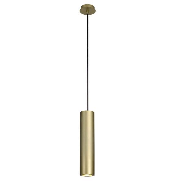 Suspension design Enola aluminium doré