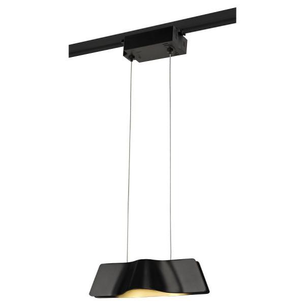 Suspension design Wave Pendant LED 3000K - Noir