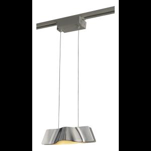Suspension design Wave Pendant LED 3000K - Aluminium brossé