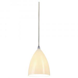 Suspension conique Tonga 4 en céramique blanc Ø 15 cm
