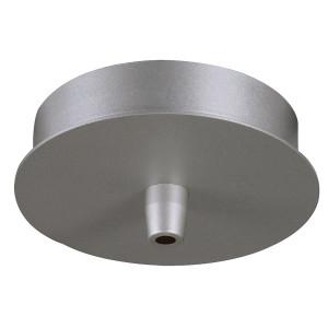 Suspension conique Biba 3 verre satiné et aluminium Ø 13 cm