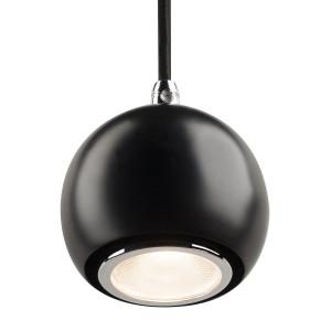 Suspension Light Eye Ball noir/chrome Ø 8.9 cm