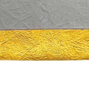 Suspension sphérique blanc/or Forchini Ø 50 cm