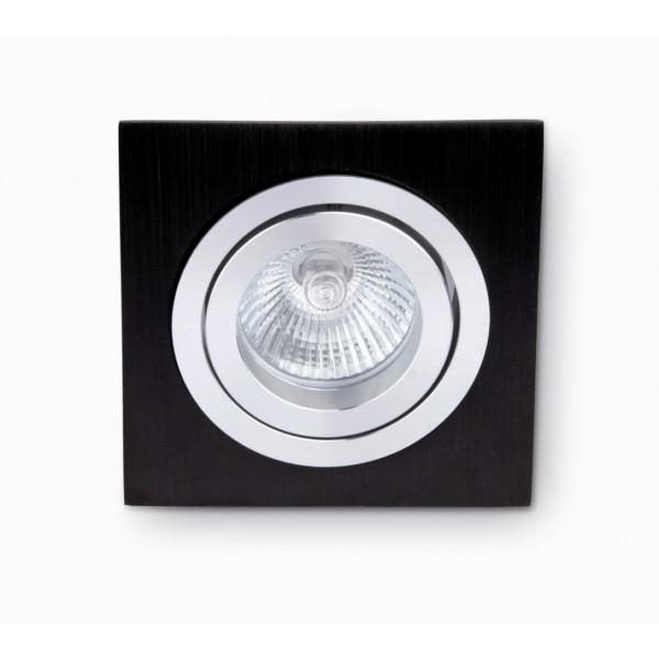 spot encastrable carr pour plafond luminaire orientable en vente. Black Bedroom Furniture Sets. Home Design Ideas