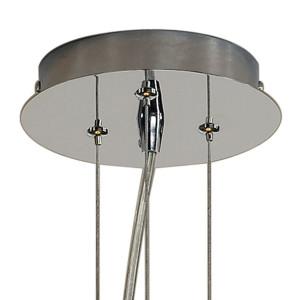 Suspension verre design conique beige Orion Cone