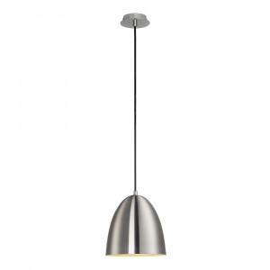 Suspension design conique alu brossé Para Cone Ø 20 cm