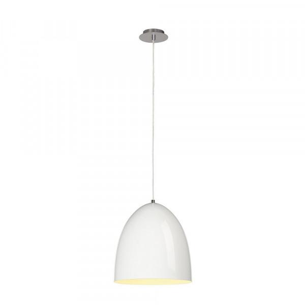 Suspension conique blanc laqué Para Cone Ø 30 cm