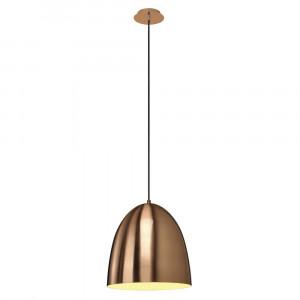 Suspension ronde cuivre brossé Para Cone Ø 30 cm