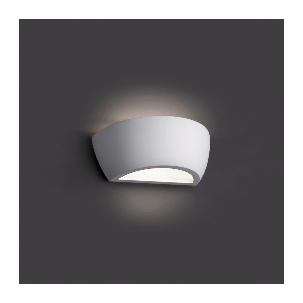 Applique murale blanche design luminaire design sur lampe for Murale design