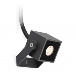 Projecteur extérieur LED gris foncé IP65 Oki