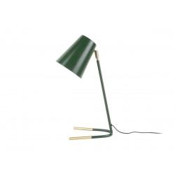 Lampe sur pied verte Noble - H 46cm