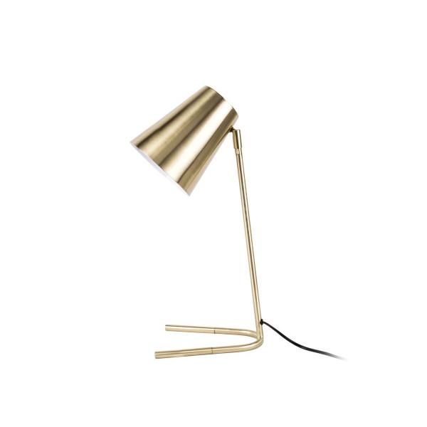 Lampe de table or brossé Noble - Ø 15.5cm