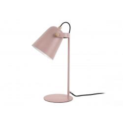 Lampe à poser Steady en métal poudré rose