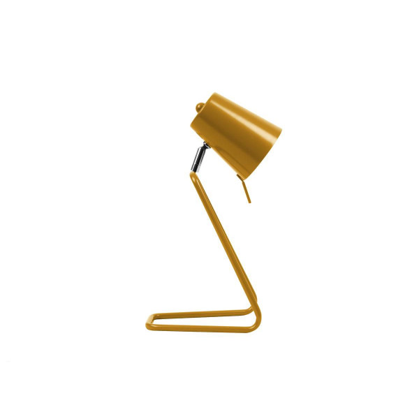 Lampe de table design Z ocre jaune