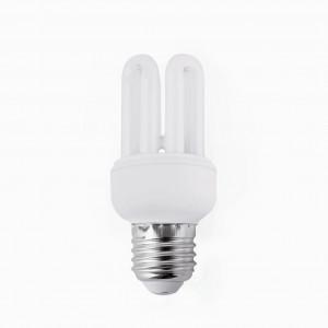 Ampoule E27 économie d'énergie lumière chaude