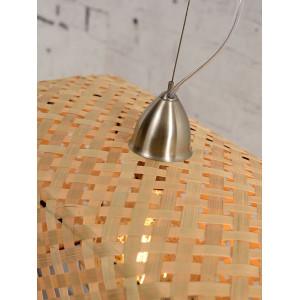 Lampe suspendue Komodo bambou naturel