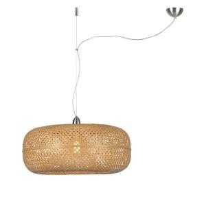 Lampe à suspension bambou naturel