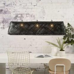 Suspension luminaire bambou noir