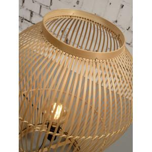 Lampe bambou tendance