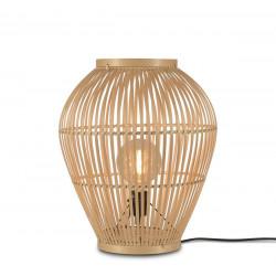 Lampe à poser en bambou naturel H70cm
