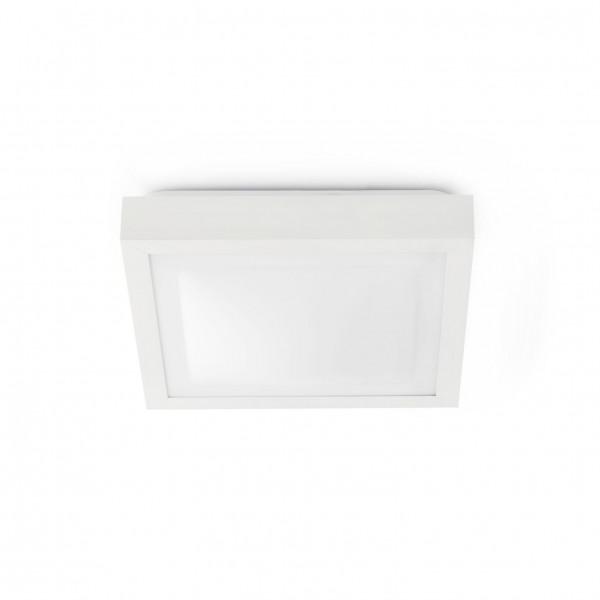 Plafonnier salle de bain blanc Faro