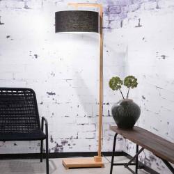 Lampadaire en bambou et lin écologique