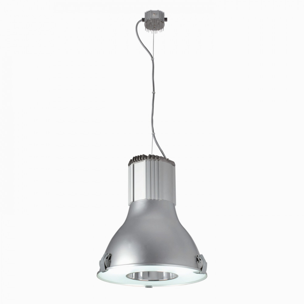 Suspension cuisine type industriel en aluminium lampe avenue for Suspension luminaire exterieur