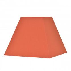 Abat-jour carré pyramide terre de sienne