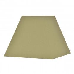 Abat-jour carré pyramide vert kaki