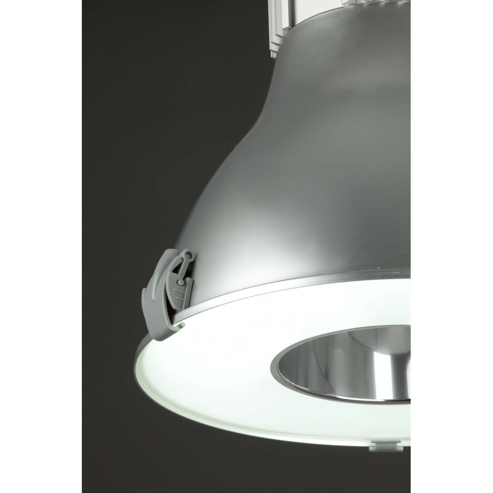 Suspension cuisine type industriel en aluminium lampe avenue for Cuisine design industriel