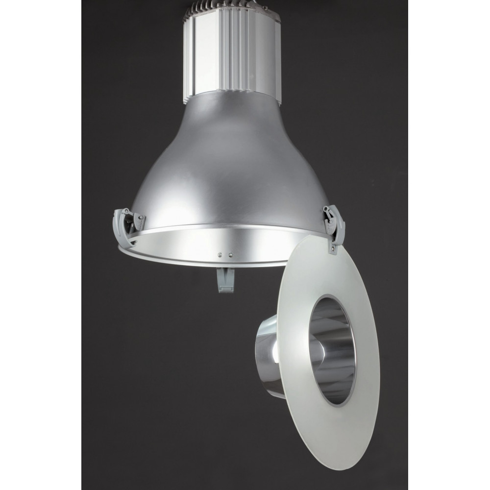 Suspension cuisine type industriel en aluminium lampe avenue - Lampe suspension cuisine design ...