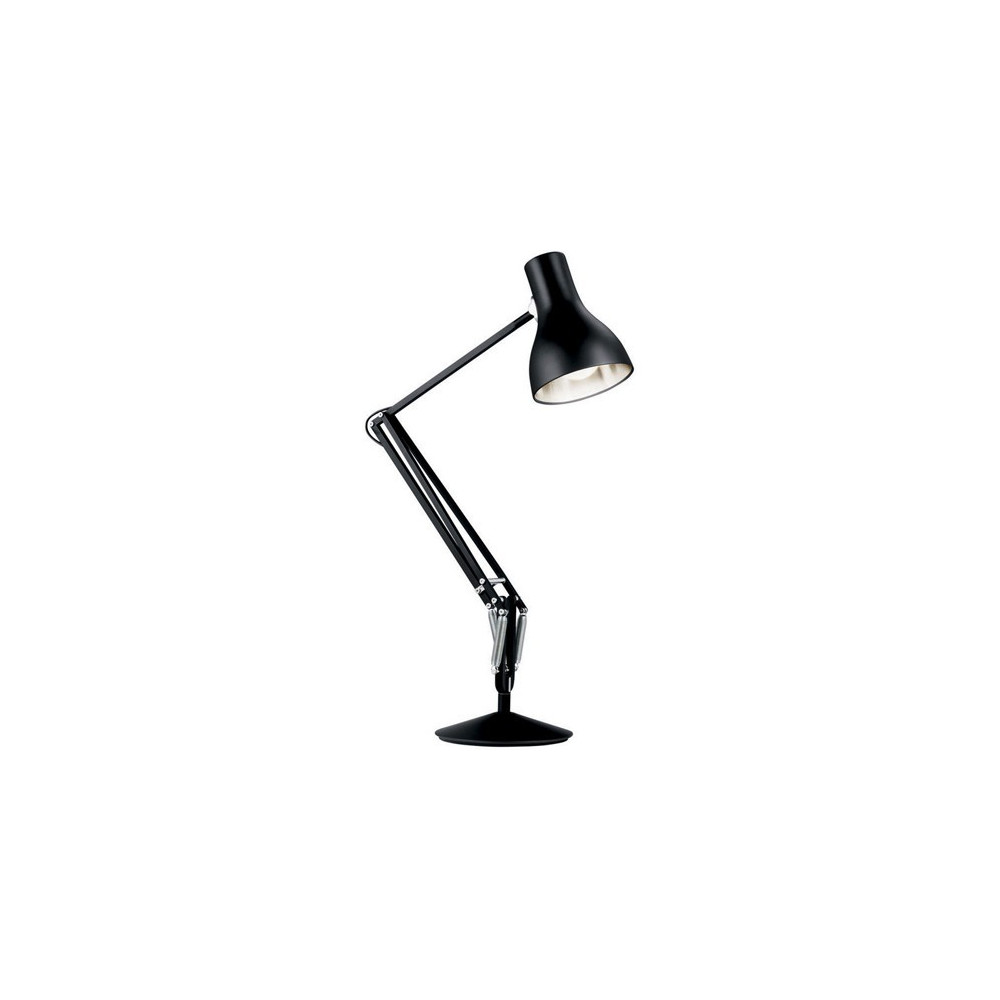 lampe de bureau anglepoise type 75 noire lampe avenue. Black Bedroom Furniture Sets. Home Design Ideas