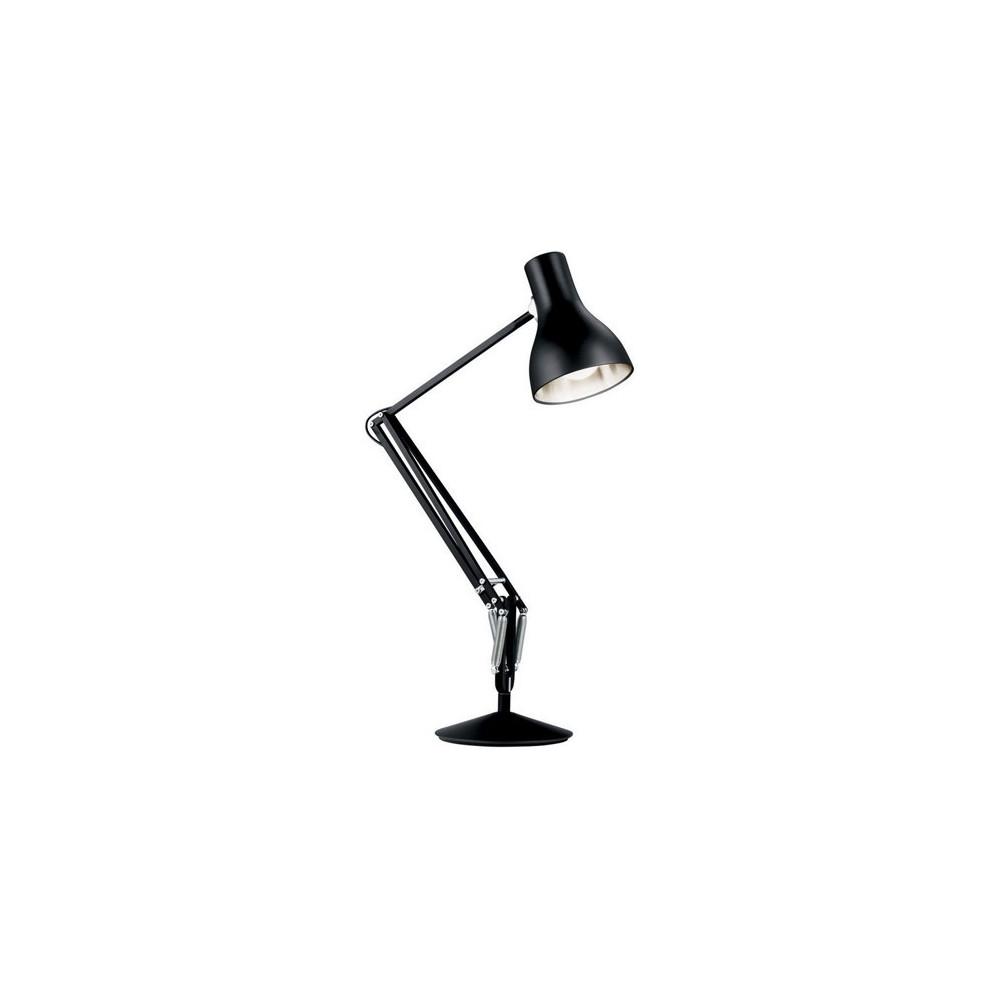 Lampe de bureau anglepoise type 75 noire lampe avenue - Lampe de bureau professionnel ...