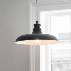 Suspension loft noire