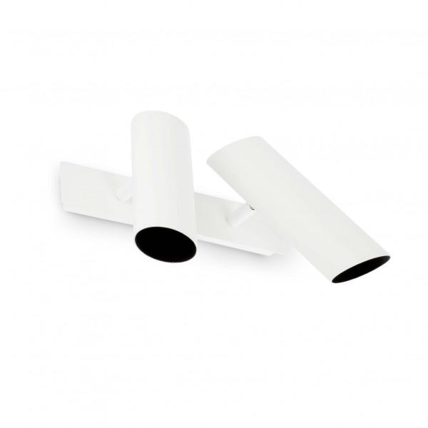 Applique design double spot blanche Faro