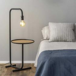 table chevet avec lampe intégrée