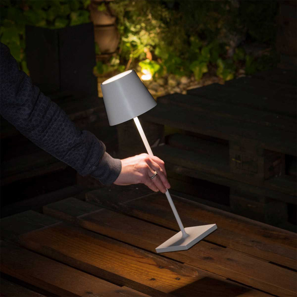 Lampe table sur batterie