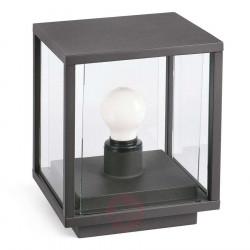 Lampe borne d'extérieur aluminium gris foncé H220mm - IP54