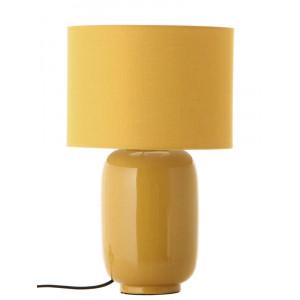 Lampe jaune moutarde