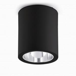 Plafonnier design noir Faro