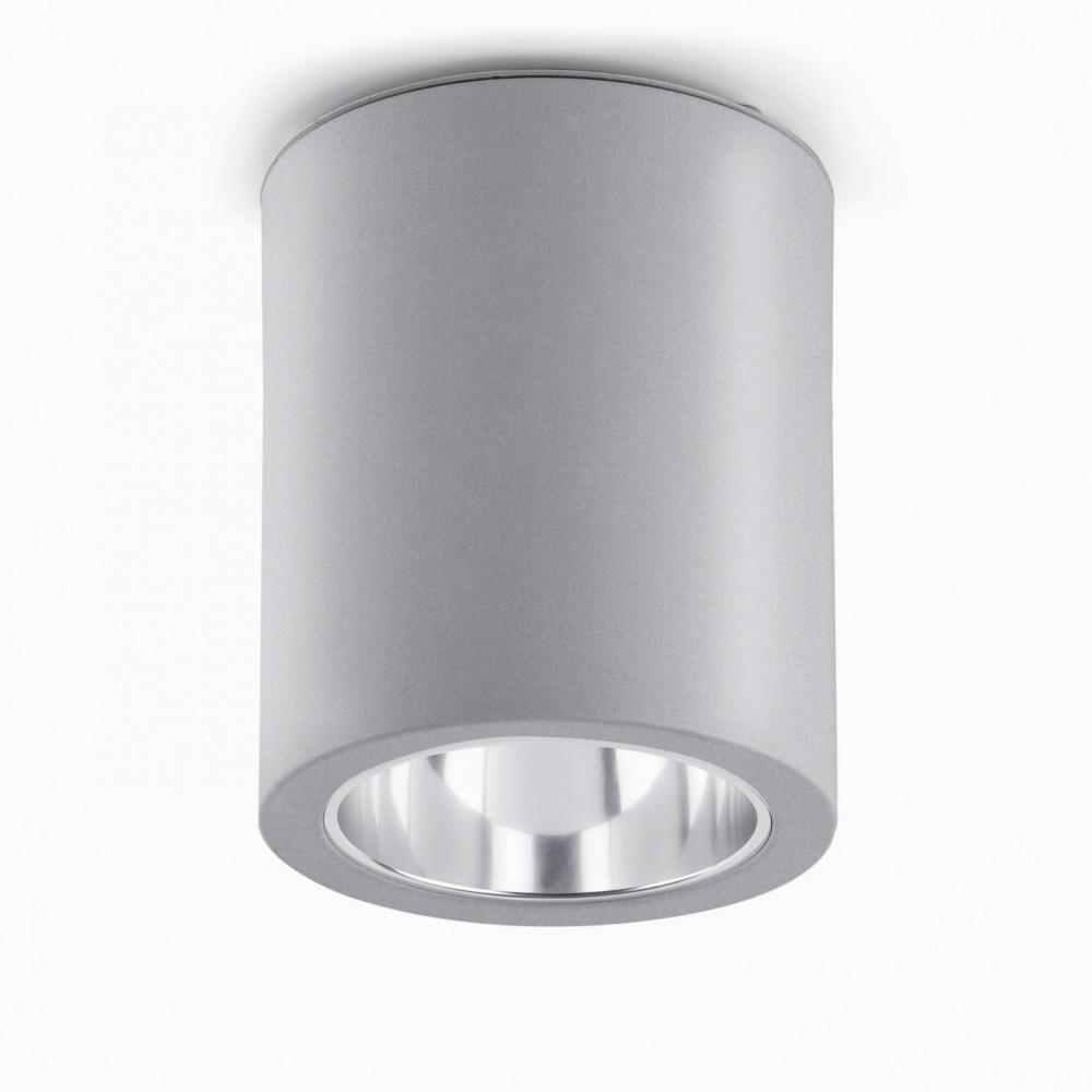 Plafonnier design en aluminium gris clair en vente sur for Plafonnier exterieur design